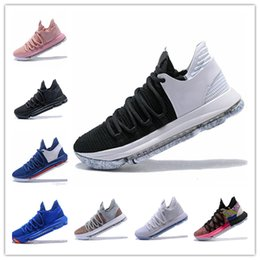 kd casual shoes 2019 - 2019 Zoom KD 10 Anniversary University Red Still Kd Igloo BETRUE Oreo Men Casual Shoes USA Kevin Durant Elite KD12 Casua