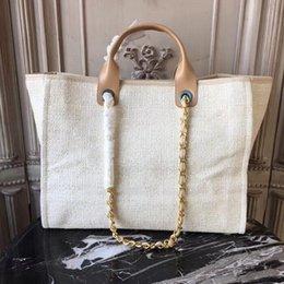 Tones iphone online shopping - High end customized quality handbag designer beach bag travel holiday shopping essential large capacity handbag with iphone plus insert bag