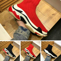 $enCountryForm.capitalKeyWord Australia - New comfortable men's shoes stretch socks women's boots fashion wild casual shoes classic hot style flat shoes size 35-45