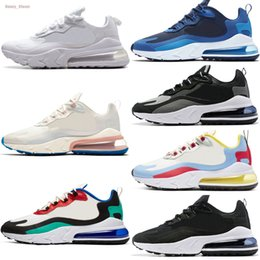 women athletic air shoes Australia - React Trainers Running Shoes Max Mens Women Bauhaus Hyper Jade Phantom Multi Athletic 2020 New Air Unisex Shoes Sneakers