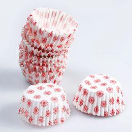 $enCountryForm.capitalKeyWord NZ - 100pcs Lot Sun Pattern Cake Paper Holder Disposable Round Cupcake Wrapper Bake Cake Wrap Mini Cake Tray Mould Decoration 2 Lots ePacket