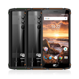 "Wholesale HOMTOM ZOJI Z9 IP68 Waterproof Helio P23 Android 8.1 Octa core Smartphone 5.7"" 6GB 64GB 5500mAh Face ID Fingerprint Mobile phone"