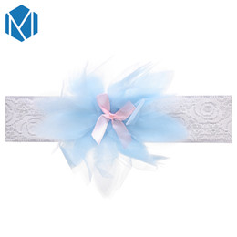Hair Bands For Babies UK - Lovely Baby Lace Elastic Hair Band Children Kids Flower Bowknot Headband For Newborn Toddler Hair Accessories