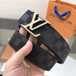 Mens leather belts sale online shopping - 2018 Fashion Men Belts Genuine Leather Brand Designer Buckle Mens Luxury For male belt Jeans High Quality Cow Strap for sale