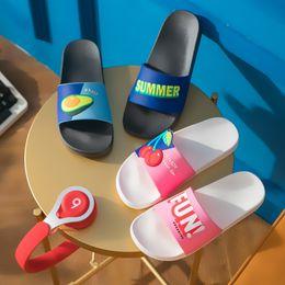 362e740bb8a81 Women Summer Slippers Beach Slides Cartoon Fruits Lemon Cherry Indoor Slippers  Sandals Women Shoes Ladies Zapatillas Mujer