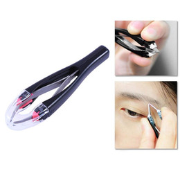 eyebrow stickers Australia - Retractable Non-Slip Eyelashes Extension Automatically Eyebrow Tweezer Double Eyelid Sticker Pinzette Eyes Jaw Hair Removal Tool