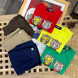 material cotton Canada - kids t-shirt 2020 designer new style cotton material comfortable breathable children's short sleeves PWPH