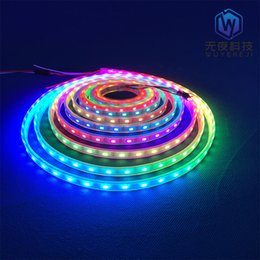 pixel strips Australia - Addressable rgb 60leds smd5050 5v ws 2811 led strip ws 2812 rgb pixel lights sj-10060-2811 strip