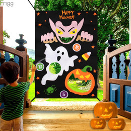 Wholesale halloween vampire games online – ideas Halloween Party Gifts Vampire Fun Blanket Halloween Game For Home Cute Pumpkin Decoration Party Supplies Favors