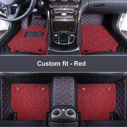 Опт автомобильные коврики на заказ для Lexus LS LS430 LS460 Lexus LS460L LS600h 4 места LS600h 5 мест 2010-2017 коврики для автомобилей DoubleLayer