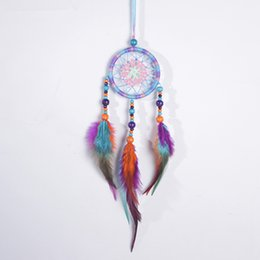Wind Chimes & Hanging Decorations Home & Garden Sweet-Tempered Handmade Rattan Dream Catcher Wall Decoration Household Decoration Hanging Pendant