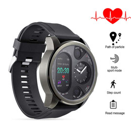 $enCountryForm.capitalKeyWord Australia - waterproof smart watch android Fitness Tracker watch smart bracelet Heart Rate Monitor Dual time Zone Black sport watch free shipping