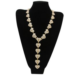 $enCountryForm.capitalKeyWord UK - The manufacturer supplies the new HeartBreak Necklace HeartBreak Necklace Heart Connection hip hop jewelry from Europe and America.