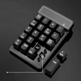 $enCountryForm.capitalKeyWord Australia - 2.4GHz Mini USB Wireless Numeric Keypad 19 Keys Number Pad Numpad Receiver For Windows XP 7  8 Laptop PC Computer JLRJ88