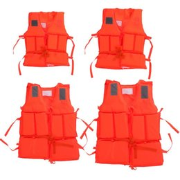 Kids Sports Whistle Australia - Kids~Adult Prevention Life Vest With Survival Whistle Water Sports Foam Life Jacket For Drifting Water-skiing Upstream Surfing
