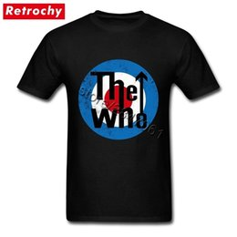 $enCountryForm.capitalKeyWord Canada - 1980's Rock And Roll Tee Shirts Men's Cheap Brand Vintage The Who T Shirt Tees Shirt Valentines Gifts Big Size T-shirts J190528