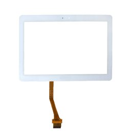 Lcd paneL repLacement for tabLet online shopping - 10Pcs For Samsung Galaxy Tab P5100 P5110 Touch Screen Digitizer Panel Glass Lens N8000 LCD Front Sensor Replacement