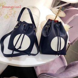 Discount small handbags for cell phones - 2018 Spring Summer New Explosions Fashion Genuine Leather Contrast Colour Shoulder Slung Bags For Women Handbag Sacs à m