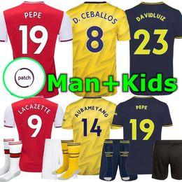 Shirt Soccer jerSeyS online shopping - NICOLAS PÉPÉ Arsen Man and Kids soccer jersey CEBALLOS HENRY PEPE football shirt Camiseta de futbol maillot de foot Henry