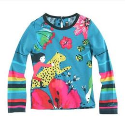 $enCountryForm.capitalKeyWord NZ - 2-10 year Girls baby leopard print T-shirt kids long sleeves tees child spring autumn T-shirt Brand clothing