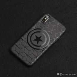 $enCountryForm.capitalKeyWord NZ - Mytoto Marvel Avengers Captain America Shield Superhero Case for iPhone 8 7 6 6S Plus X Xs Max Xr Rubber Ironman Comic capinhas Cover