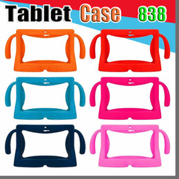 china kids tablet pc Canada - 838 Kids Soft Silicone Rubber Gel Case Cover For Q88 A13 A23 A33 Q8 Android Tablet PC