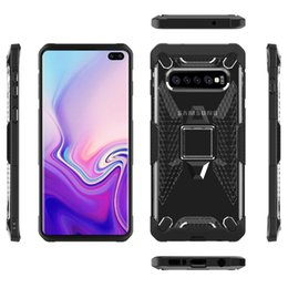 Clear Rugged Cases NZ - Wing Robot Clear Hybrid Rugged Armor Cell Phone Cases For Samsung Galaxy S10 Plus S10e Iphone XS Max XR 8 Shockproof Mobile Case
