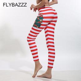 c8808af83b2538 Women Christmas Plus Size Yoga Pants High Waist Elastic Fitness Sport Leggings  Tights Running Sportswear Quick Dry Train Trouser