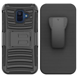 hybrid robot combo phone case NZ - For Alcatel 7 LG V40 X power 3 Hybrid Armor Case robot cover Combo Heavy Duty With Clip phone case Oppbag