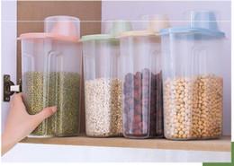 Household Transparent Grain Storage Tank Kitchen Food Dry Cargo Storage Box Plastic Sealed Waterproof Grain Tanks OXS 001 on Sale
