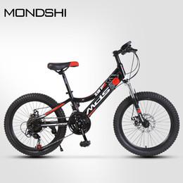 Mondshi20 inch mountain bike 21 speed disc brake absorption front fork on Sale