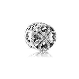 $enCountryForm.capitalKeyWord Australia - 3 Color Lucky Clover Alloy Charm For Pandora Bracelet Snake Chain Or Necklace Fashion Jewelry Loose Bead