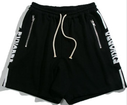 types drawings UK - Mens Shorts Draw String Restoring Ancient Fitness European And American Street Style New Type Summer Pants