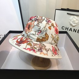 $enCountryForm.capitalKeyWord Australia - 19ss New Fashion Hats For Women Exquisite Printing And Perfect Quality Caps Wide Brim Hat Suit For All Seasons