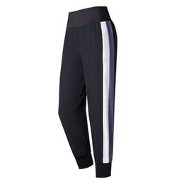 Spandex Yoga Pants UK - Women's Sports Running Training Pants Loose Breathable Gym Yoga Sweatpants Outdoor Fitness Workout Jogging Trousers