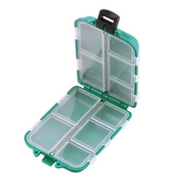 $enCountryForm.capitalKeyWord Australia - Fishing Tackle Boxes Hook Compartments Storage Case Outdoor Fishing Swivels Lure Bait Storing Tool Hot Sale Green Plastic