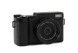 Slr Lens NZ - 2019 24MP HD semi-digital SLR professional digital camera, 4x telephoto fisheye and wide-angle lens camera macro HD camera
