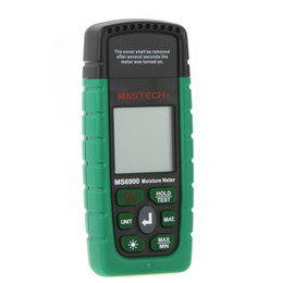 Digital Wood Humidity Meter Australia - 2019 Hot Fashion Mastech MS6900 Digital Wood Moisture Temperature Meter Best Humidity Tester High Quality Wholesale