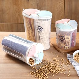 Grain dryer online shopping - 3 Color Transparent Crisper Grains Storage Tank Household Kitchen Containers for Dry Cereals Sealed Storage Box