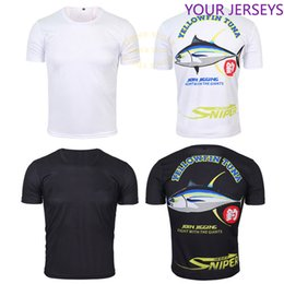 t shirt anti uv NZ - Clothes for Fishing Summer Tshirt Breathable Anti-sweat Sport Quick Dry T-shirt Anti-uv Men Outdoor Cycling Fishing Tshirt