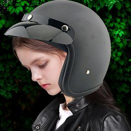 Classic Open Face Motorcycle Helmets Australia New Featured