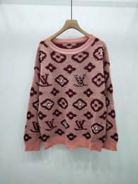 Bead panels online shopping - Milan Runway Sweater New O Neck Long Sleeve High End Jacquard Pullover women Designer Sweater
