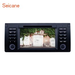 5.7 Inch Touch Screen Australia - Android 9.0 7 inch GPS Navi Car Stereo for 1996-2003 BMW X5 E53 5 Series E39 with Bluetooth Music support Steering Wheel Control Car dvd