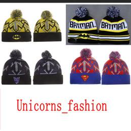 1a7c3d7a849 Batman skull cap online shopping - Batman Knit Hat beanies Casual Bonnet hat  knitted hats for