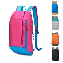 backpack sports luggage Australia - Outdoor Waterproof Sport Backpack Small Gym Bag Women Pink Luggage For Fitness Travel Duffel Bags Men Kids Children