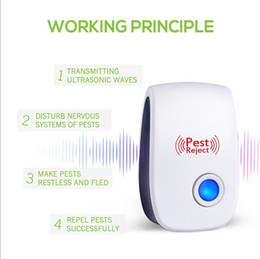 $enCountryForm.capitalKeyWord NZ - Electronic Ultrasonic Pest Control Equipment Mosquito Repellent for Repels Bed Bugs Mice Flies Cockroaches Ants Spider Other Insec New A5907