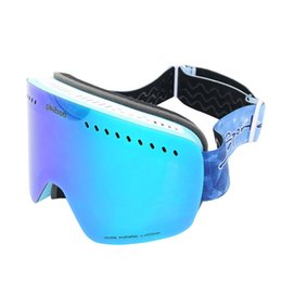 Discount ski big goggles - phibee ski goggles double layers UV400 anti-fog big ski mask glasses skiing men women snow snowboard goggles