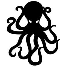 PurPle wall art stickers online shopping - Octopus Wall Decals Funny Boat Car Bumper Window Vinyl Sticker Art Decor Fashion Personality