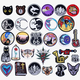 Tailored Clothing NZ - Good Night Iron On Patches Badges for Sew Seam Tailoring Clothes Suits of Coat Jacket Trousers T-shirt Pants Ornament Apparel