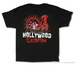 Printing T Shirts Machine Canada - Cartoon Print T Shirt Free Shipping Short Hollywood Undead Men Printing Machine O-Neck T Shirts